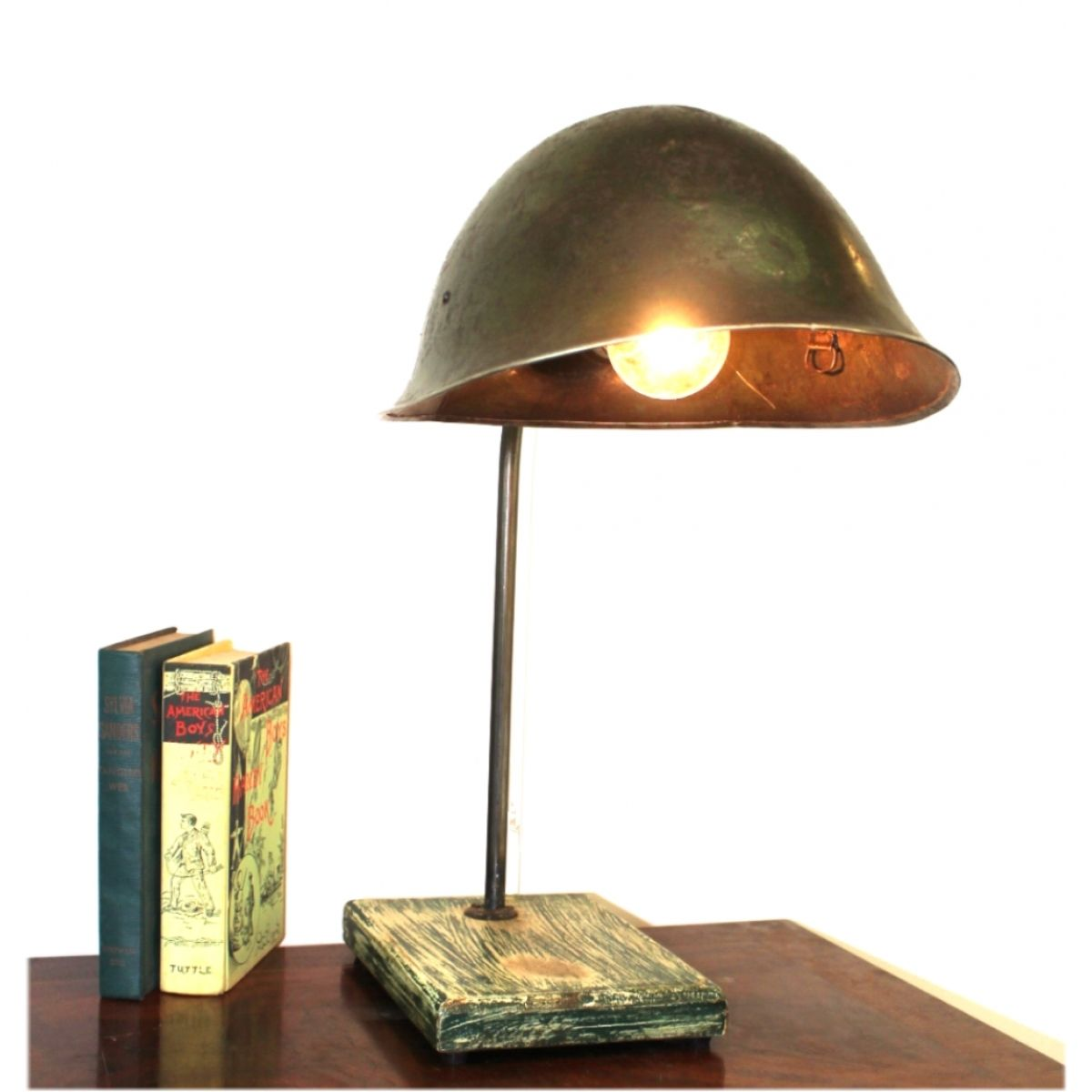 Army helmet lamp | Projects to Try | Pinterest | Helmets, Army and ...