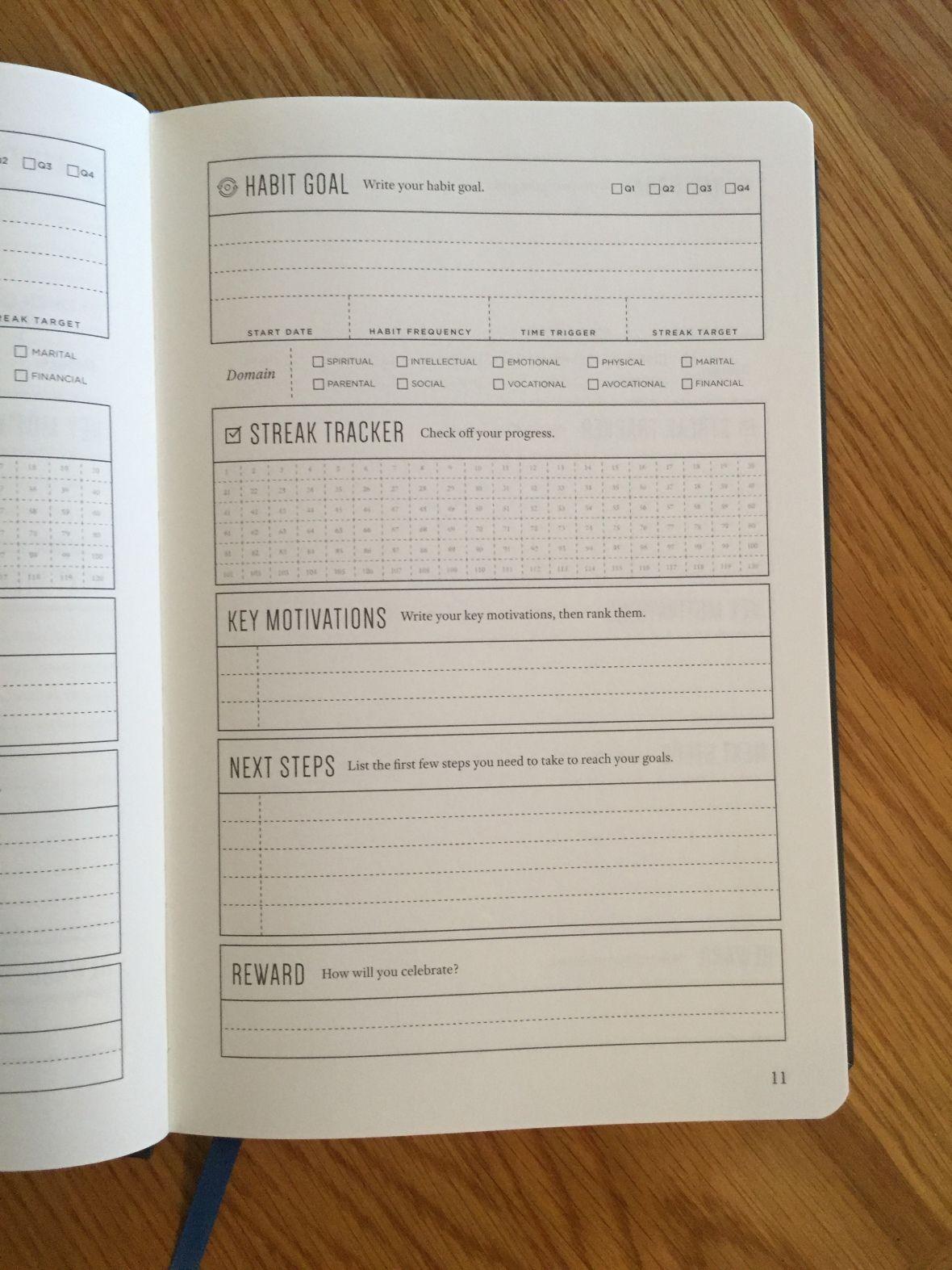 Review Michael Hyatt Full Focus Planner Updated To The