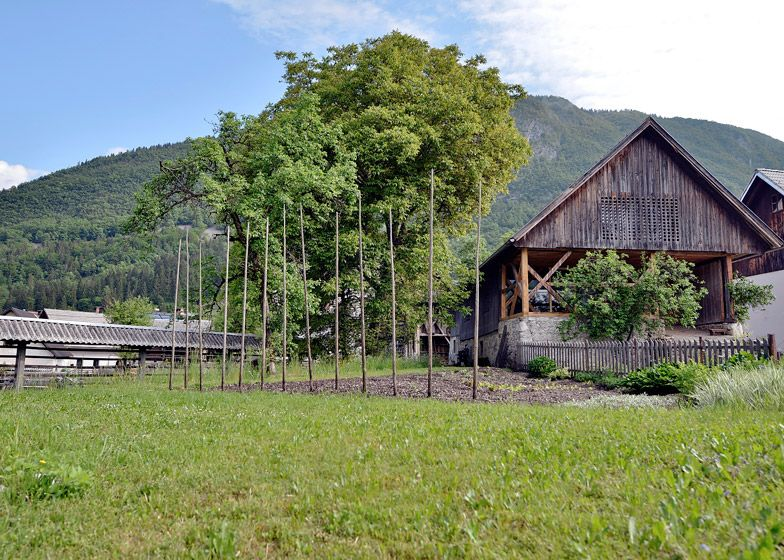 Alpine Barn Apartment is a converted cattle shed