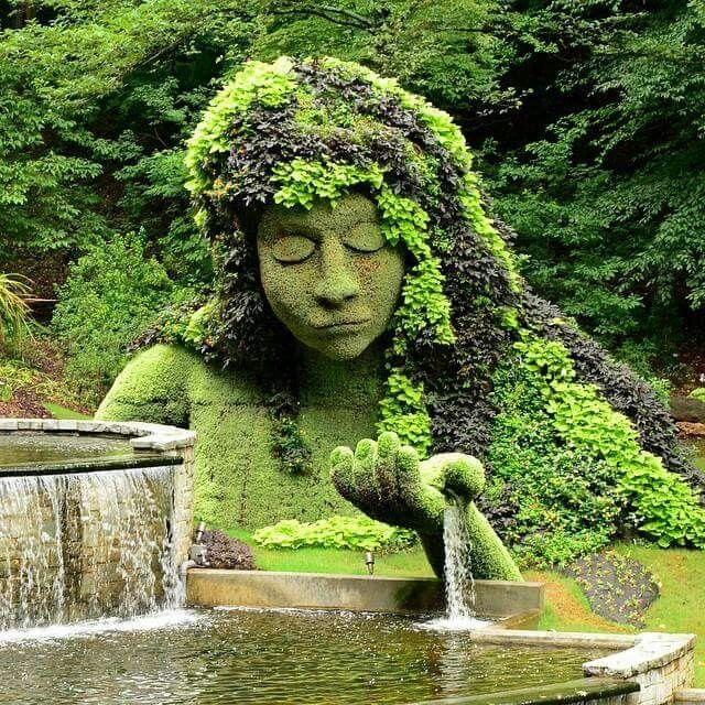 Mother Earth Fountain Atlanta Botanical Garden Atlanta