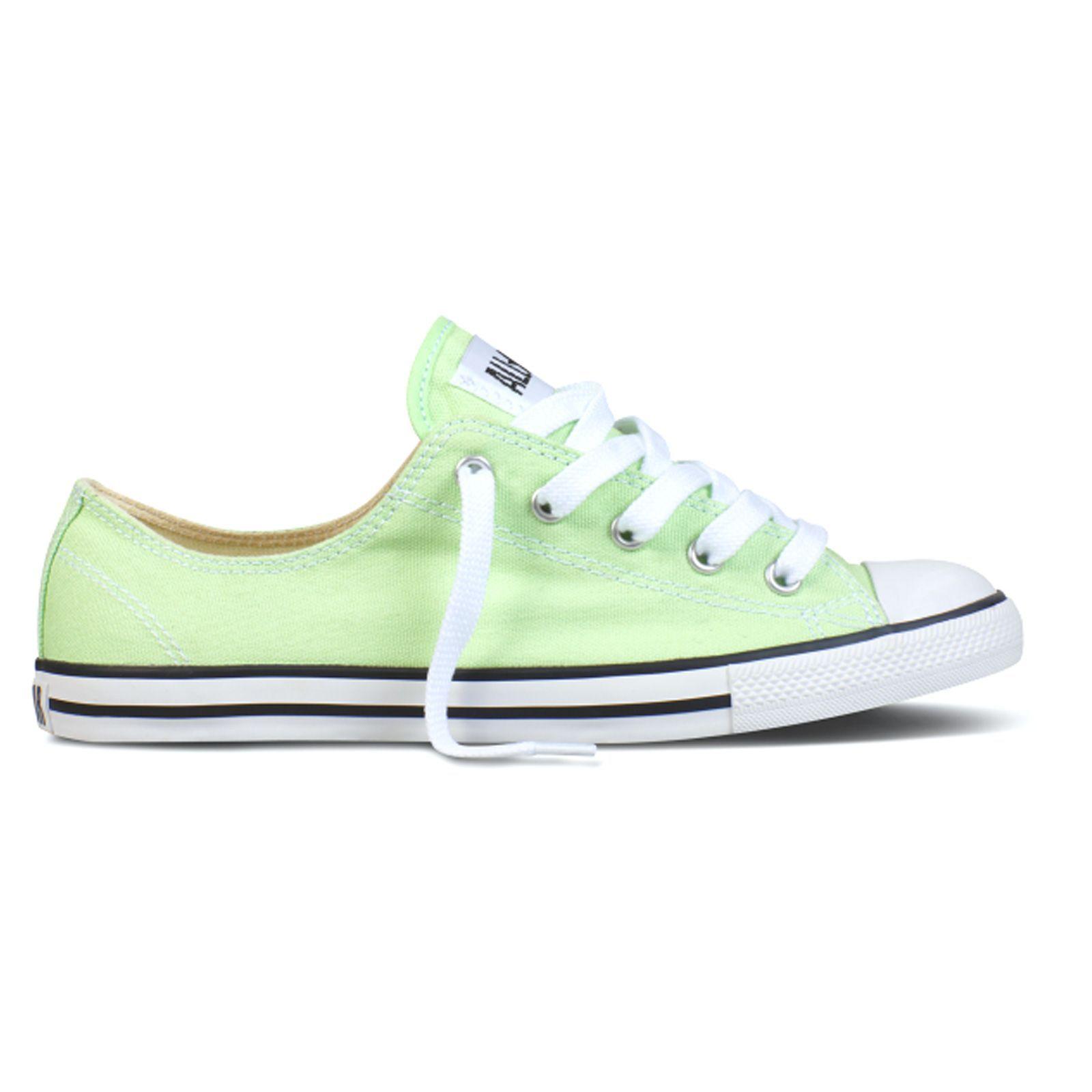 Sneakers As Dainty vert clair et blanc Converse