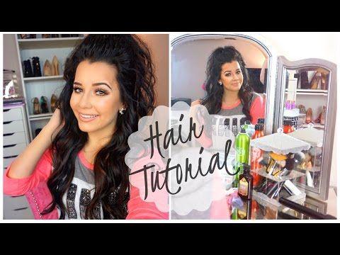 ✔ Hairstyles Braided Half Up Half Down Curls #rosegoldhair #mauvehair #pinkhair