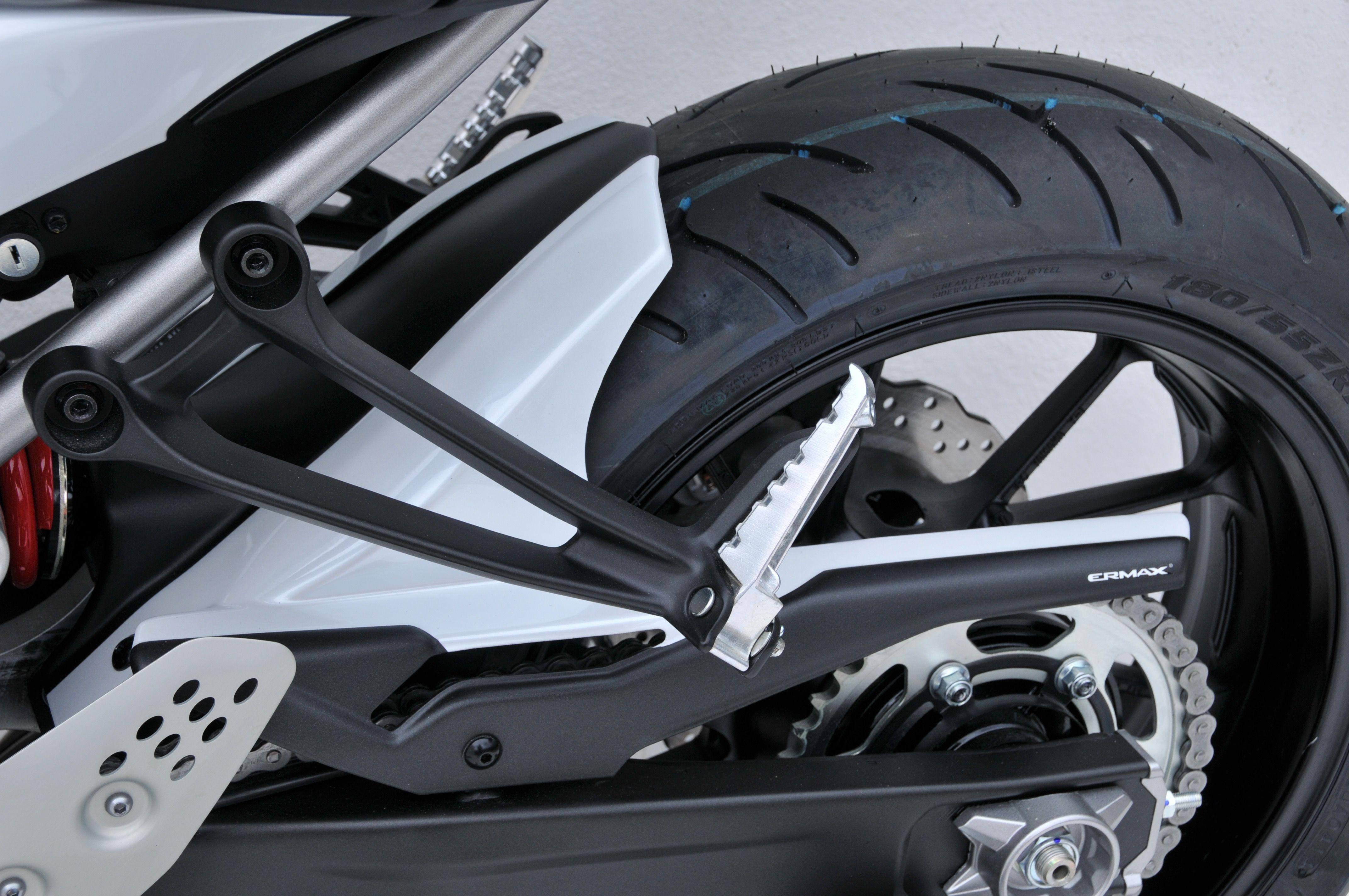 Twin Colors Rear Hugger Yamaha Mt07 Fz7 2015 2017 By Ermax Design Honda Motorcycles Accessories Motorcycle Custom Bikes