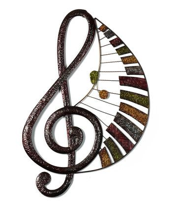 Metal Music Note Wall Decor Music Wall Art Music Themed