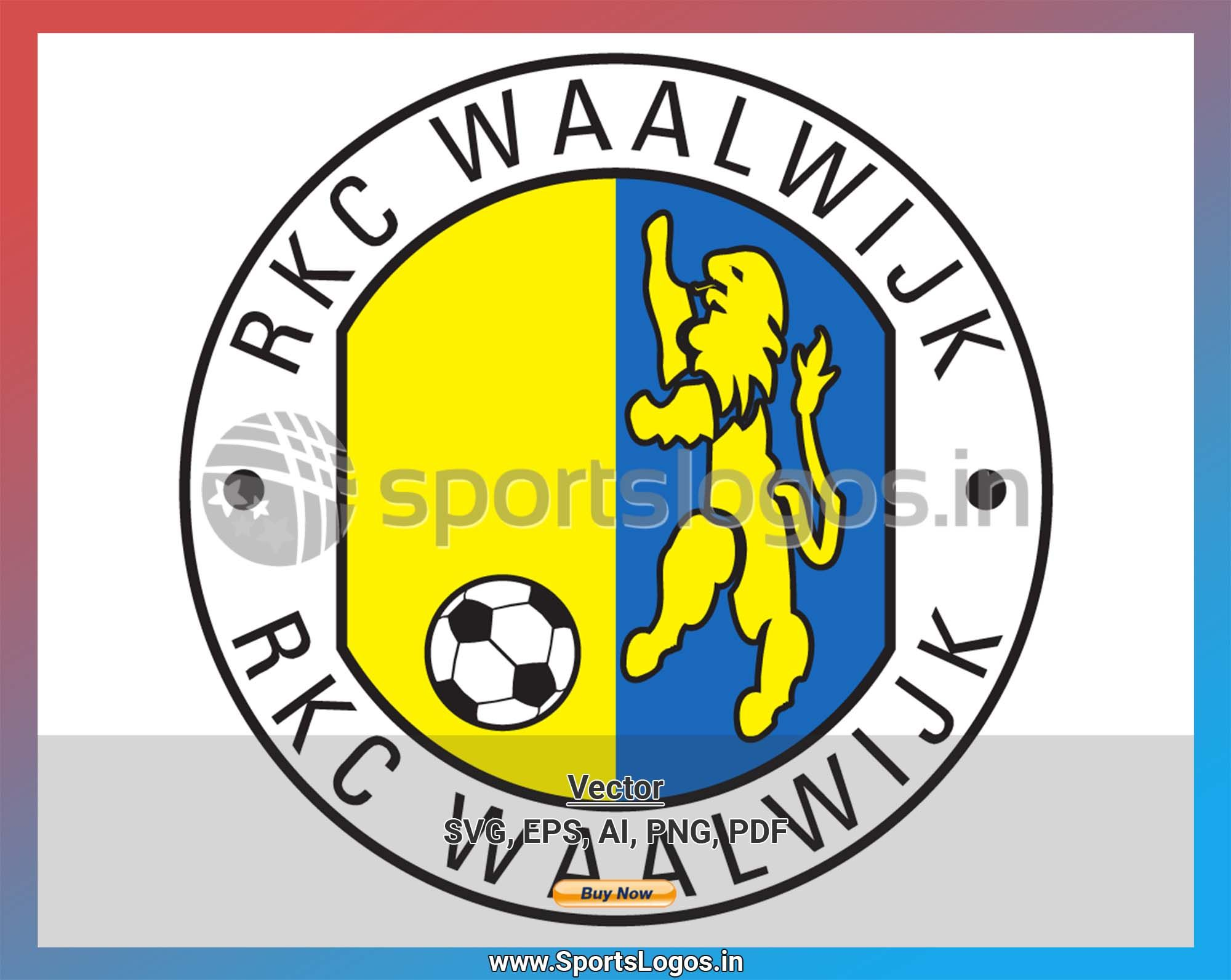 Rkc Waalwijk Soccer Sports Vector Svg Logo In 5 Formats Spln003654 Sports Logos Embroidery Vector For Nfl Nba Nhl Mlb Milb And More Sports Logo Football Logo Soccer