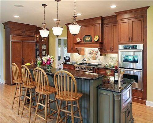 Best 2 Tiered Kitchen Island Two Tier Kitchen Island Casual 400 x 300