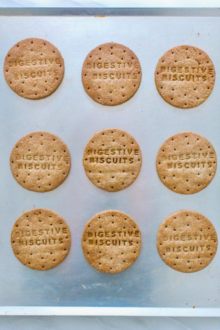 How To Make Digestive Biscuits Recipe Gemma S Bigger Bolder Baking Recipe Digestive Biscuits Digestive Cookies Biscuit Recipe