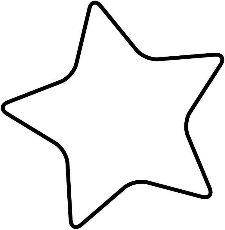 Blank Star Template - ClipArt Best | Summer Reading @ Your Library ...