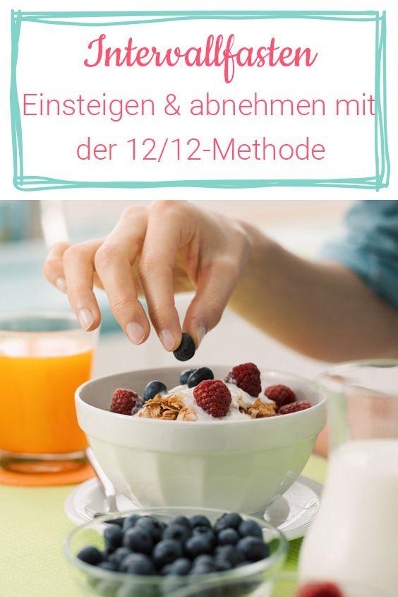 Intervallfasten für Einsteiger: Abnehmen mit der 12/12-Methode #12doctor
