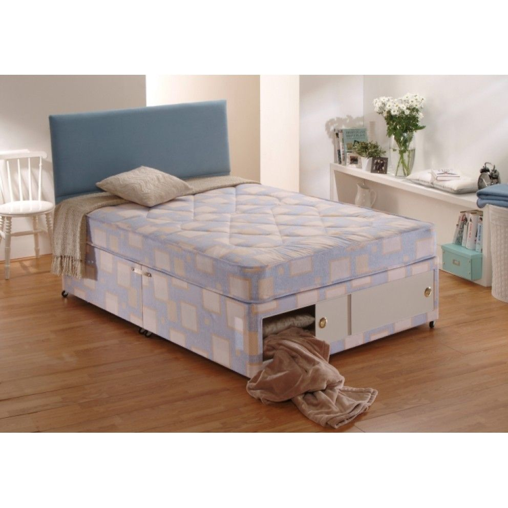 Dura Beds Mattress Dura Beds Value Winchester Light Quilted Divan Set Free Delivery
