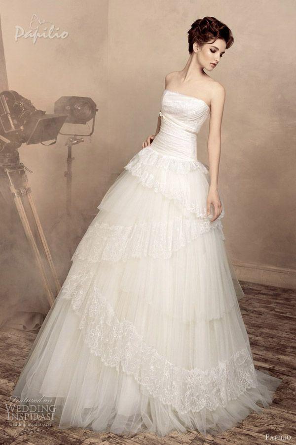 Strapless Wedding Dresses 2013