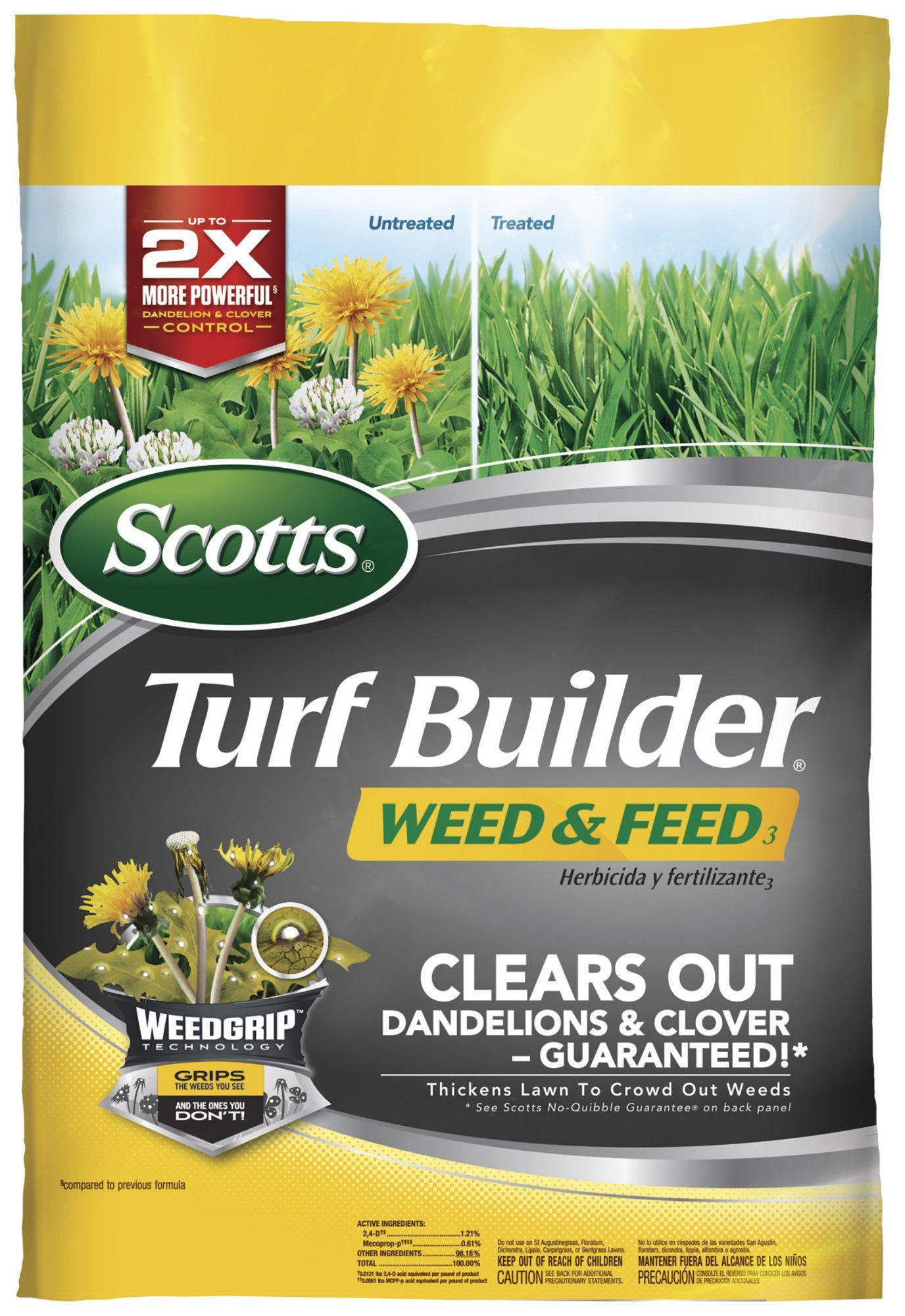 Scotts turf builder weed u feed like it pinterest turf