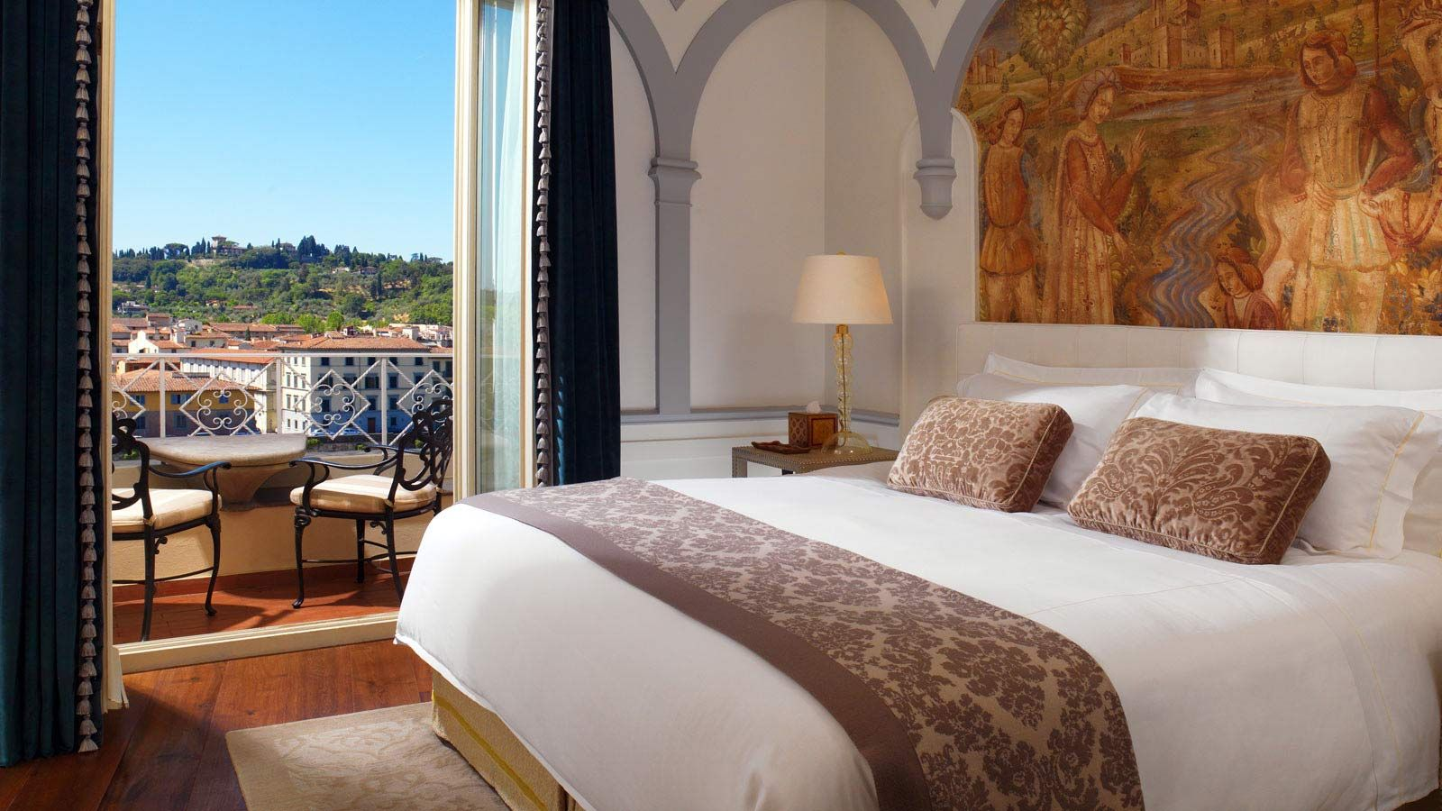 10*10 bedroom interior st regis hotel piazza ognissanti   firenze fi ital  italy