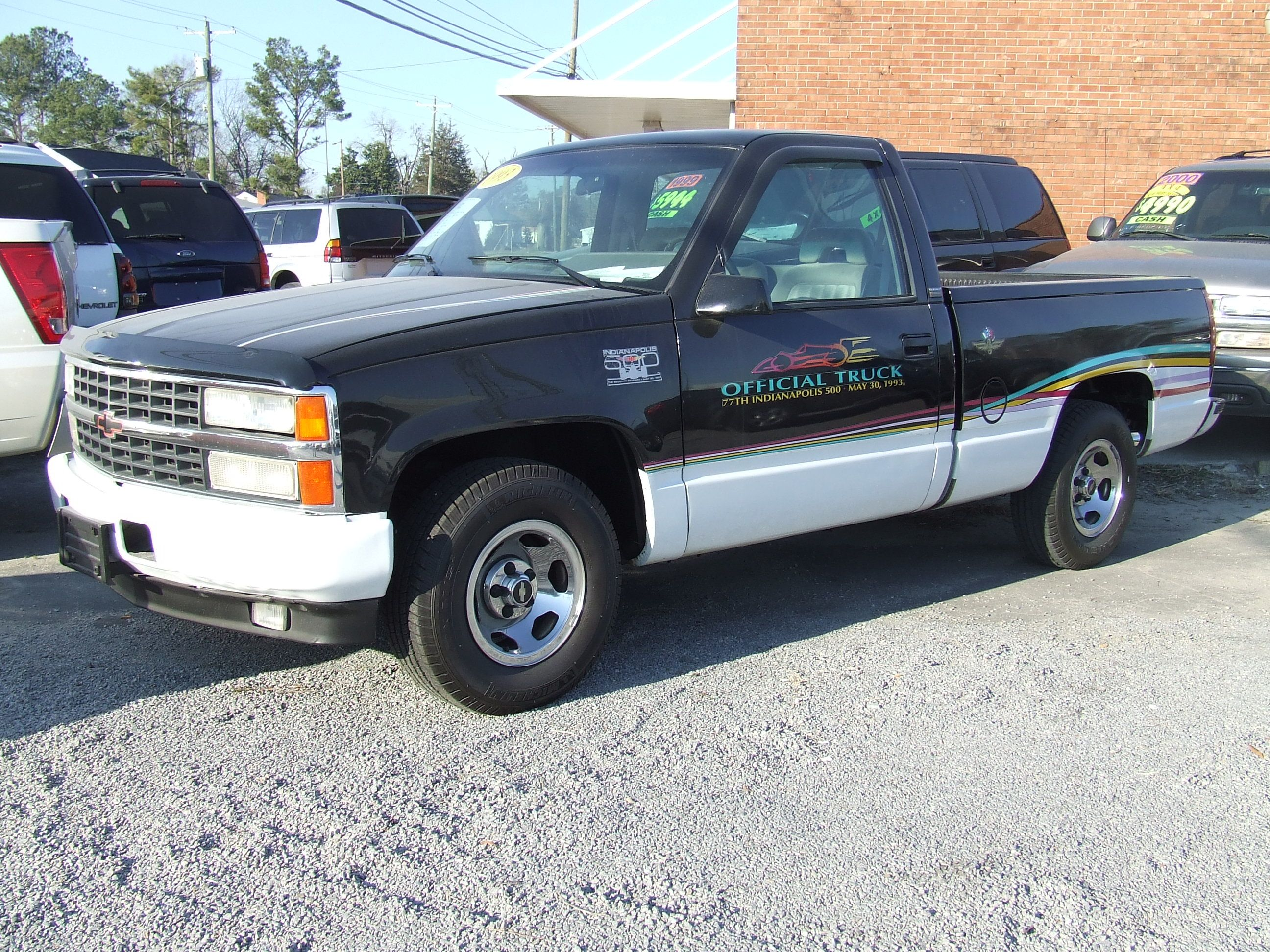 1993 chevy silverado indy 500 pace truck 1