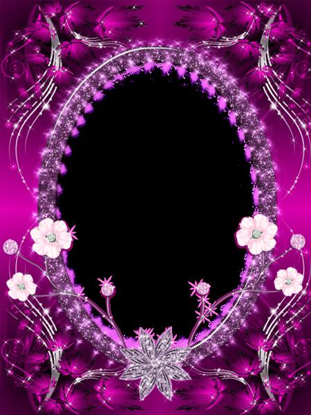 Beautiful Pink Transparent Png Photo Frame Happy Birthday Frame Birthday Frames Free Photo Frames