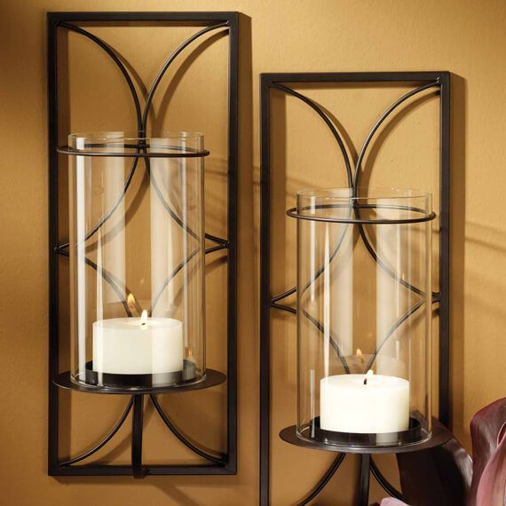 San Miguel Wall Hurricanes 2pk Candle Holders In 2019