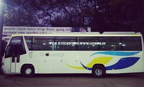 Galaxy 1 2 Luxury Bus From Bhubaneswar To Rourkela And Vice Versa