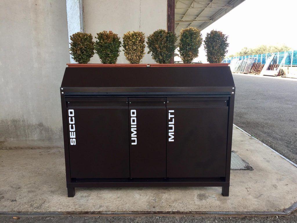 Cestini Raccolta Differenziata Casa esterno designs contenitori da esterno per raccolta