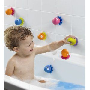Baby Bath Toy Educational Water Toys For Toddlers Octopus Bath Crayons