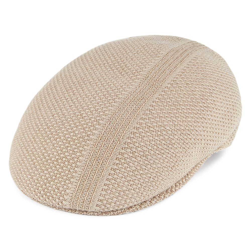 8ab2a3ae658 Kangol Hats Ridge Stripe Flat Cap - Beige in 2019