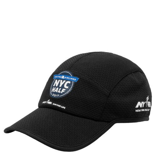 e6b908baaf3 New Balance Men s   Women s United NYC Half 5 Panel Performance Hat - Black  (500238001)