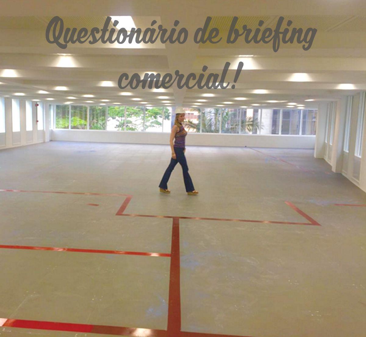 Questionario De Briefing Comercial Camila Klein Questionarios Comercial Loja De Conveniencia