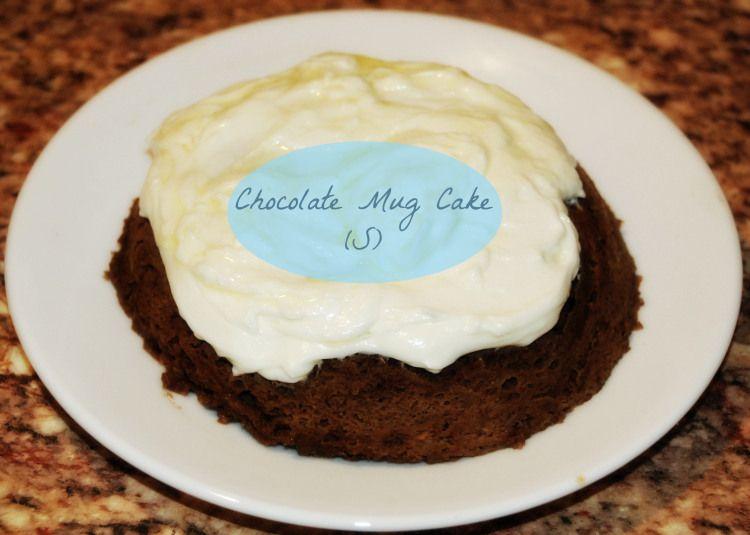 Chocolate Mug Cake! (S)  THM friendly, Sugar-free, low carb!
