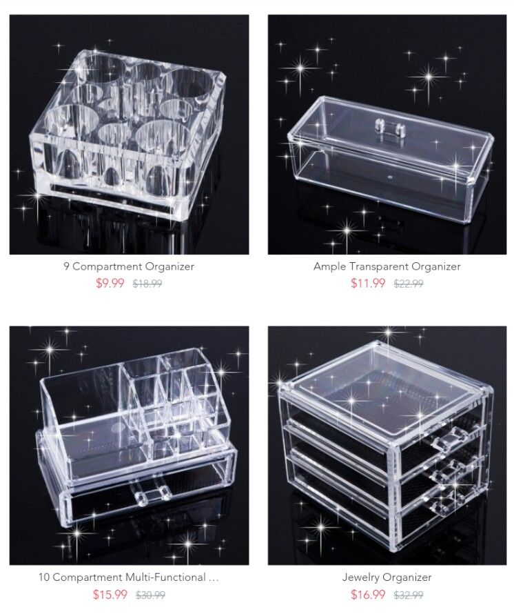 App Drawer Organizer Nice Acrylic Makeup Organizer Available On Patpat Appdownload To