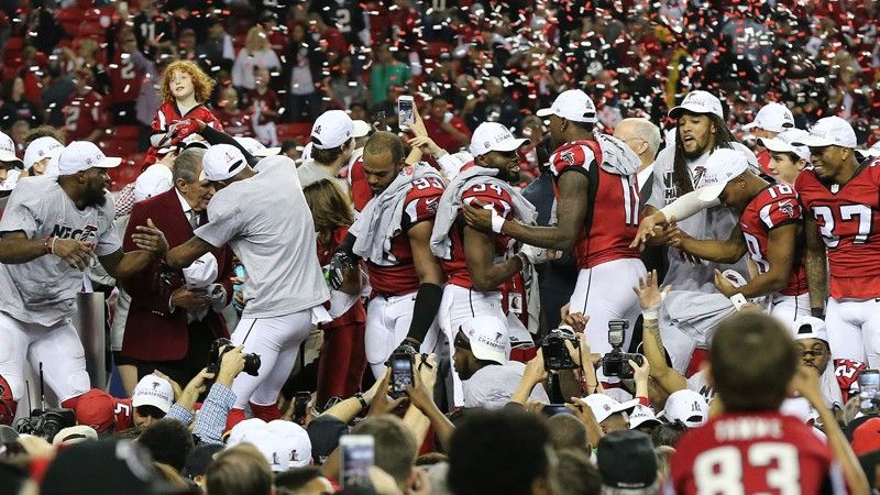 Congratulations AtlantaFalcons! Come watch the Superbowl