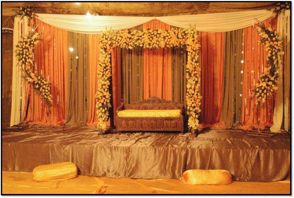 Mehndi Decoration At Home With Flowers : Best mehndi decor color google search projects to try
