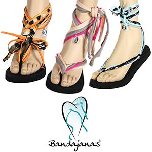 Kijk voor de slippers en verschillende banden sets op www.landligt.nl