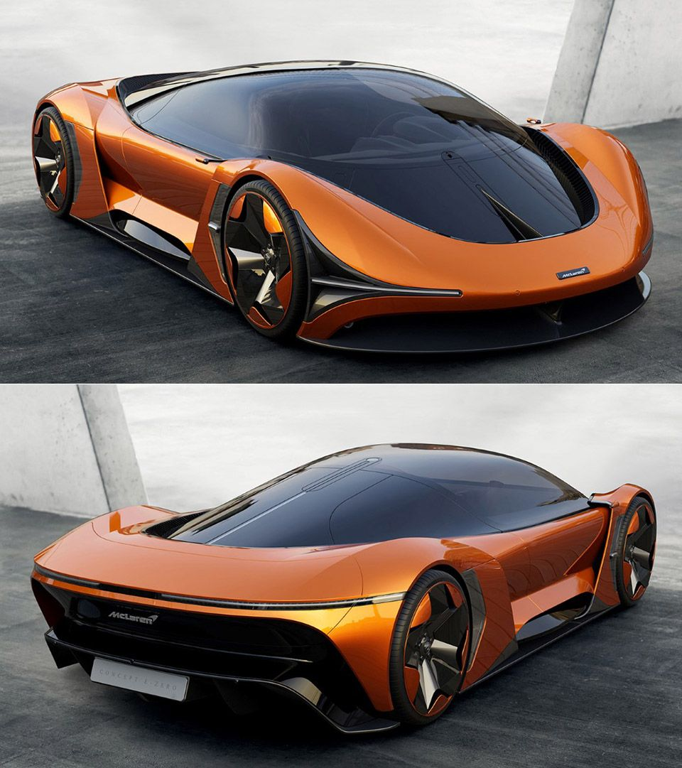 Mclaren E Zero Is A Futuristic All Electric Hypercar Futuristic Cars Design Super Luxury Cars Futuristic Cars