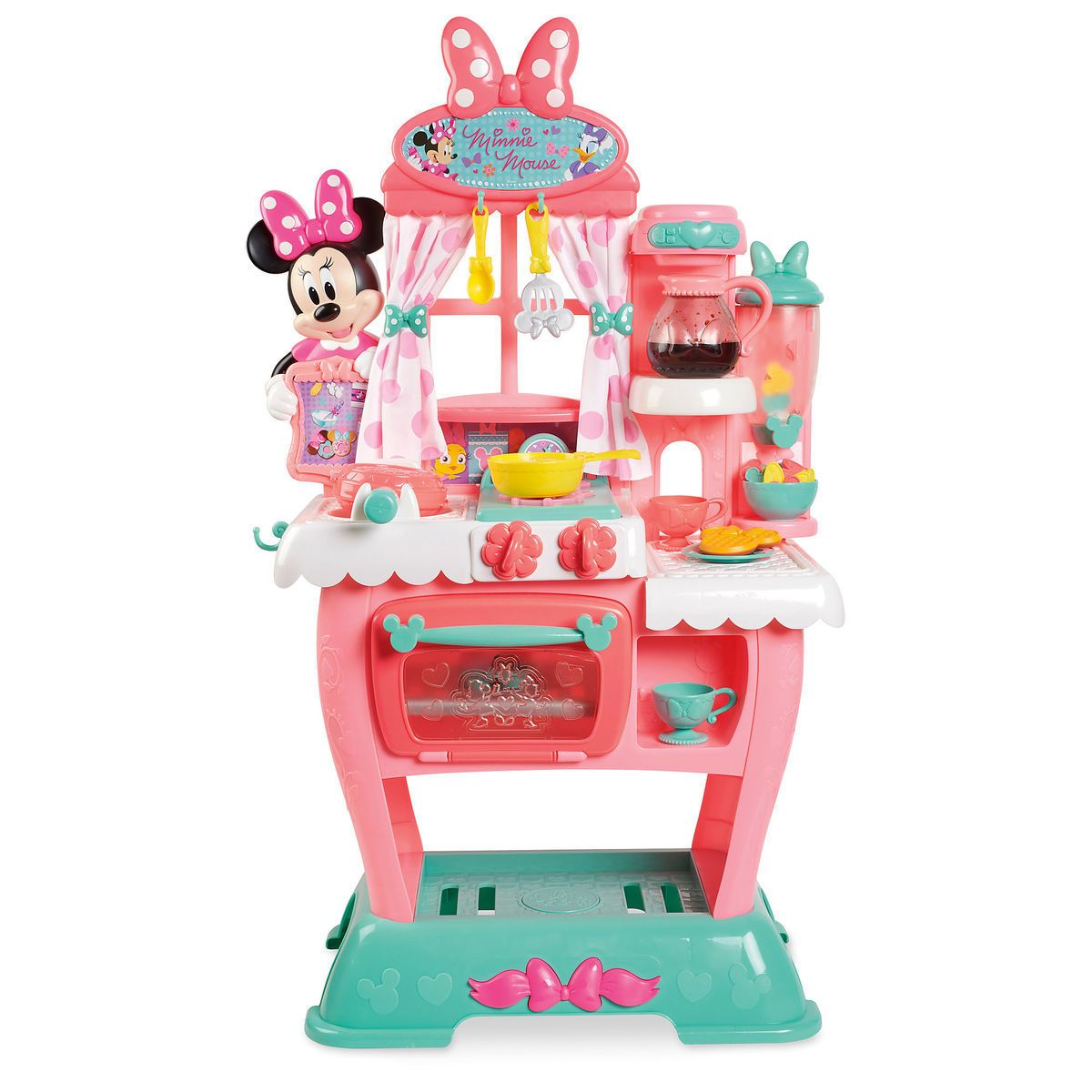 Minnie Mouse Brunch Café Playset That Little Coffee Pot Is Too Cute Kids Toy Shop Minnie Mouse Toys Little Girl Toys