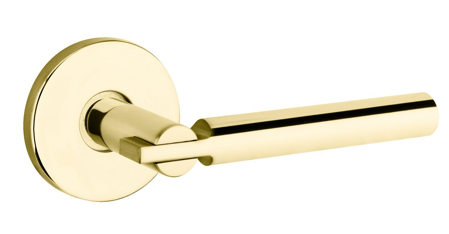 Baldwin 5161.M.IDM 5161 Style Single Dummy Door Lever with choice of Medium Rose