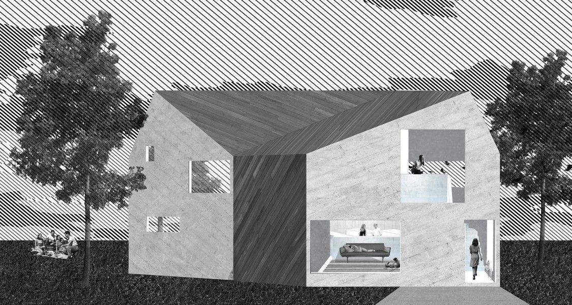 Lv House Nemestudio Landscape Architecture Design Layout Architecture Architecture