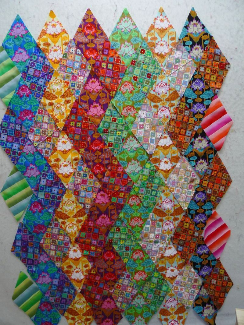 Perfect for my Kaffe Collective jelly roll Quilt Patterns I Love