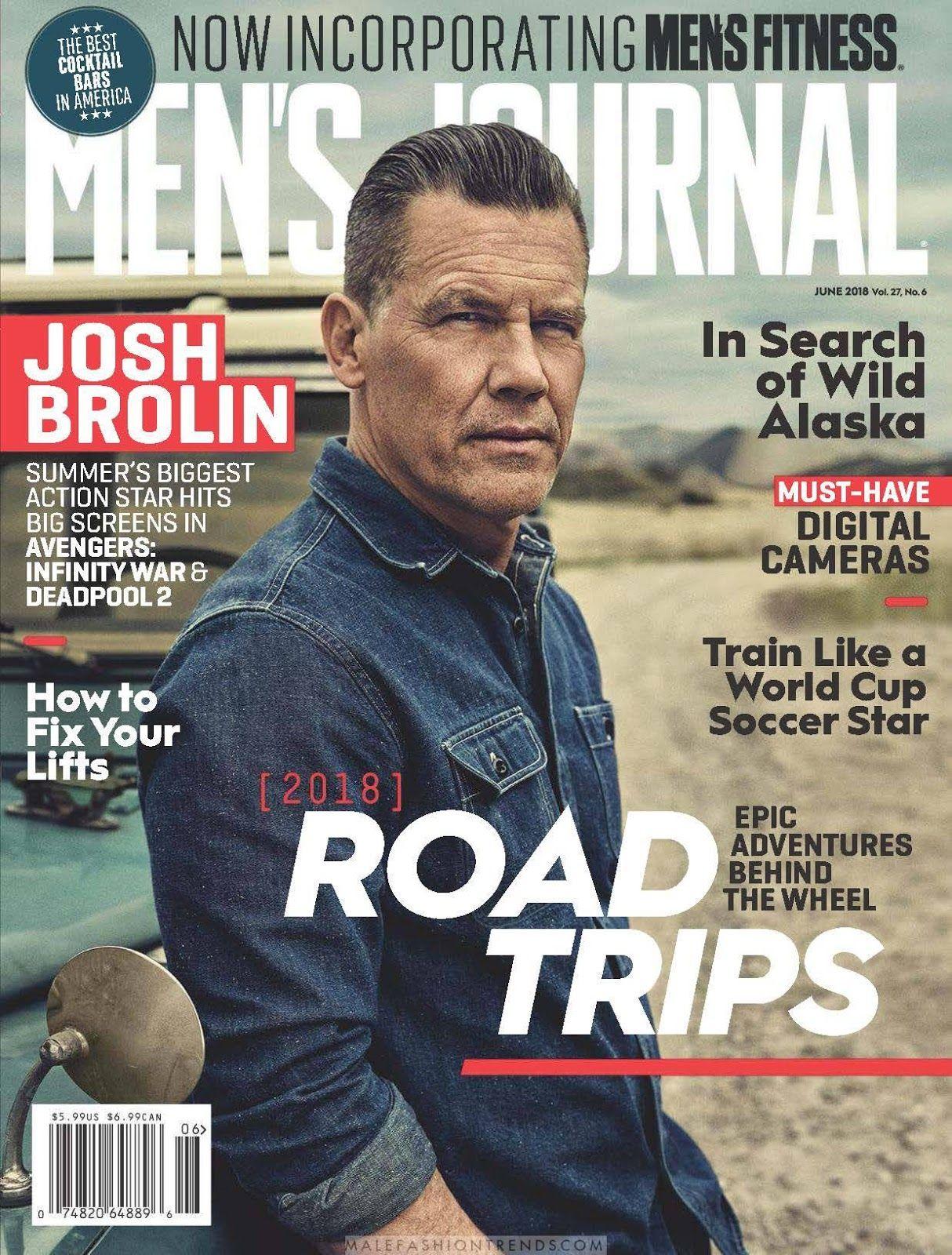 Josh Brolin for Mens Journal Magazine By Miller Mobley