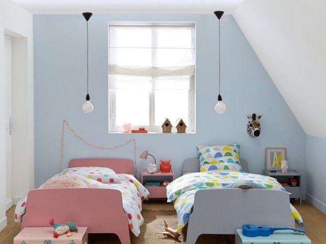 Decoration chambre fille mansardee - Comment peindre chambre mansardee ...