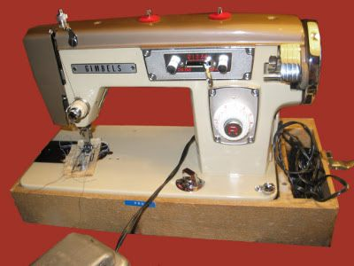 Vintage Gimbels Sewing Machines Sewing Machine Pinterest Extraordinary Sewing Machine Repair Norman Ok