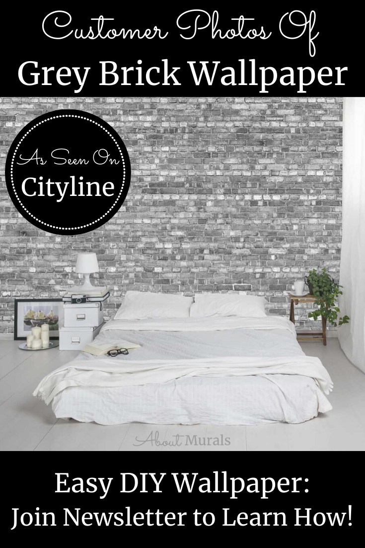 Best Grey Brick Wallpaper In 2020 With Images Brick 400 x 300