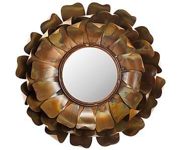 "Zrcadlo ""Sunflower"", Ø 50, tl. 14 cm"