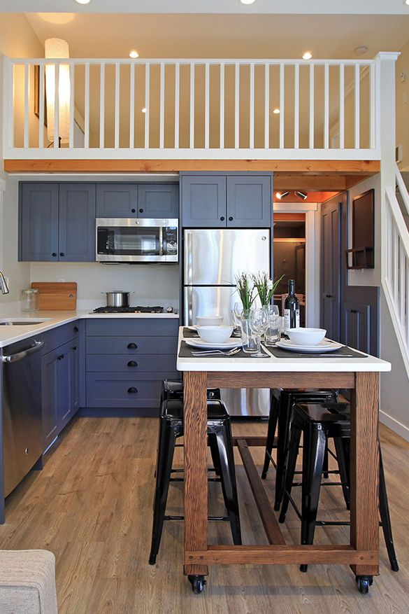 Salish By West Coast Homes Small Kitchen Layouts