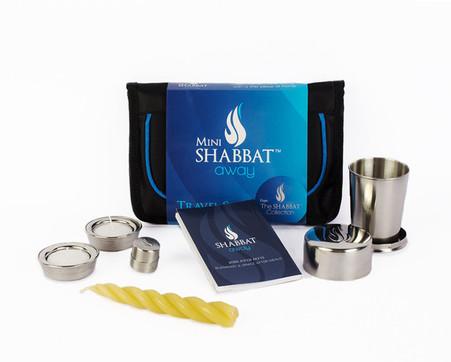 A Shabbat Away Travel Set Shabbat Shabbat Candle Holders Havdalah Candle