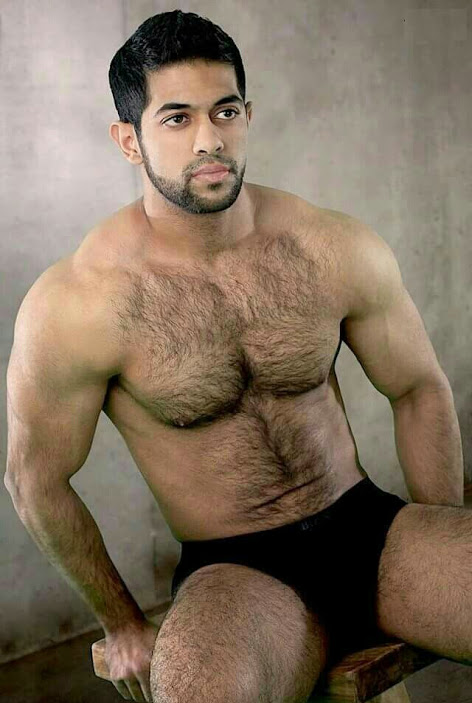Handsome nude sexy bears guy splendid