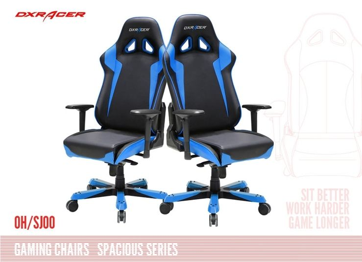 New Dxracer Chair Blue Chair Big Sizeps3 Ps4 Playstation3 Play
