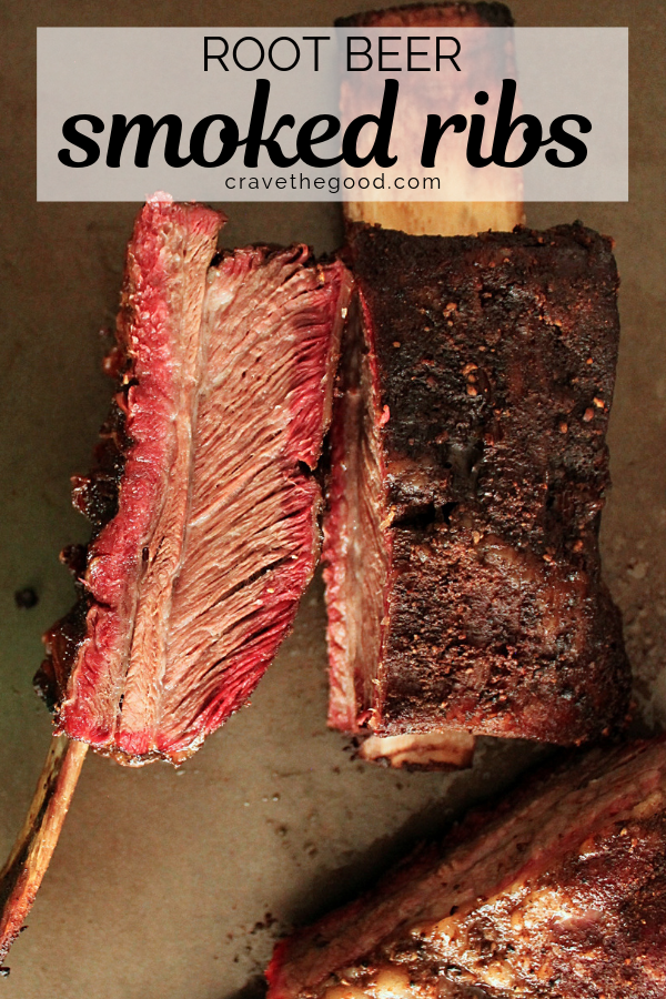 These Root Beer Smoked Ribs Are The Best Cooked Low And Slow With A Fresh Homemade Rub In Your Traeger Or Other E Smoked Beef Ribs Root Beer Ribs Smoked Beef