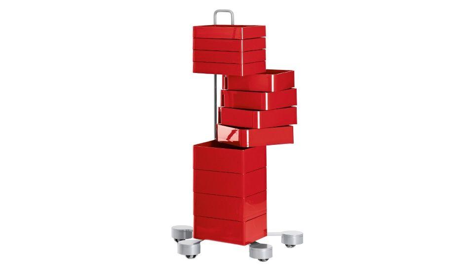 MONOQI   Spinny Castor Unit - Red