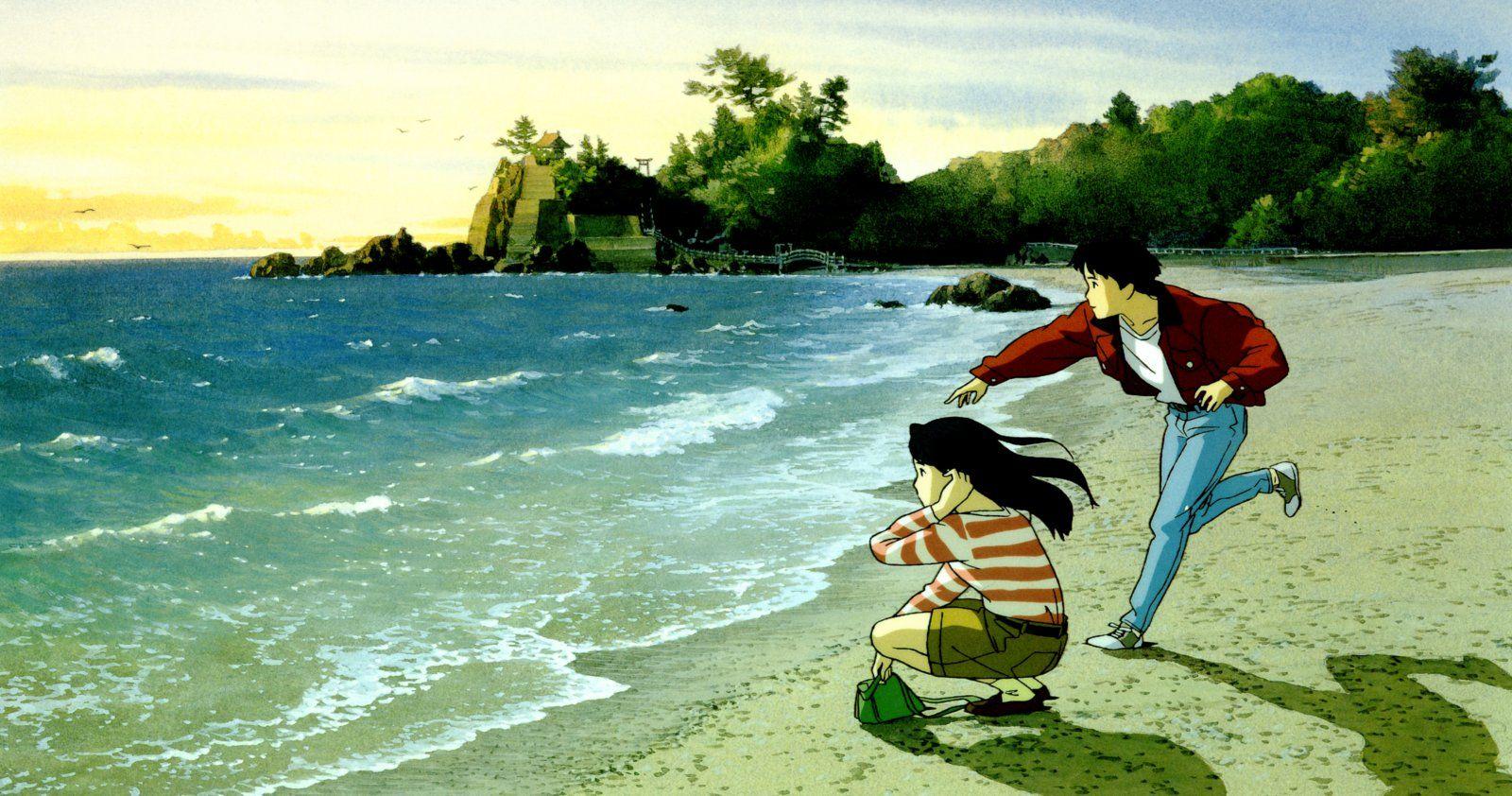 Ocean Waves Studio Ghibli Art Ghibli Art Anime