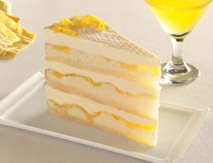 Lemon Layer Cake With Lemon Curd And Mascarpone Recipe Lemon