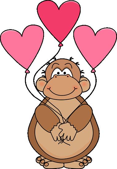 valentine s day ape clip art valentine s day ape image clip rh pinterest com app clipart ape clipart